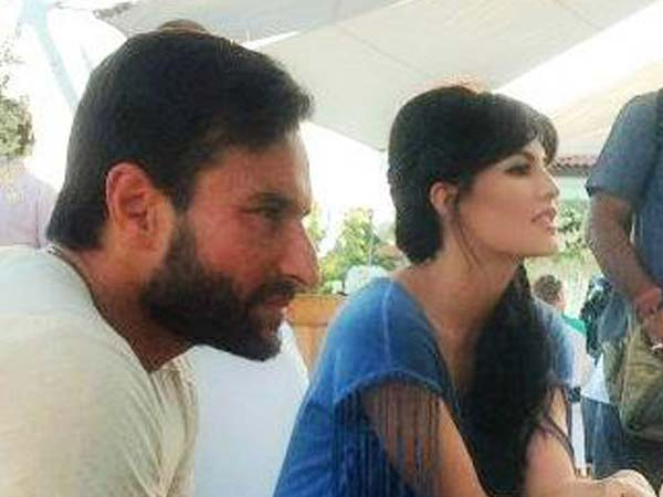 Saif With Jacqueline