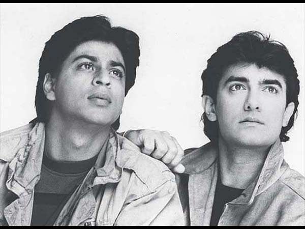 Shahrukh With Aamir