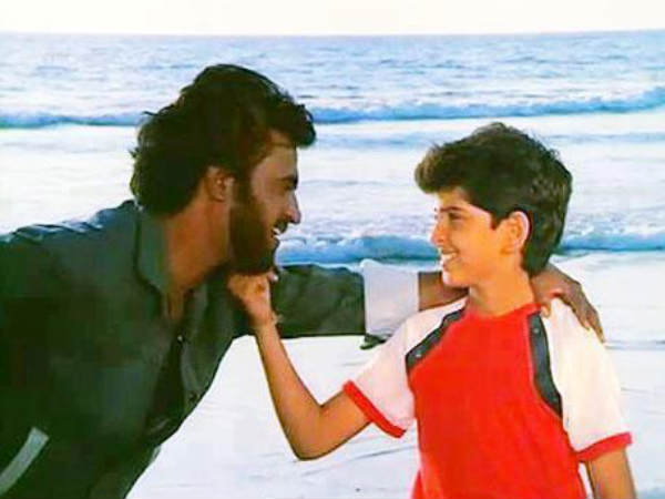 Rajinikanth With Hrithik Roshan