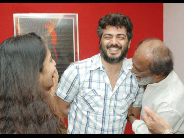 Rajini With Ajith Kumar