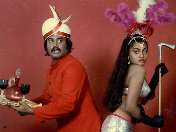 Rajini With Silk Smitha