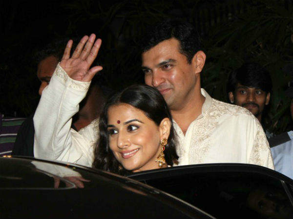 Vidya Balan's Sangeet Ceremony, A private Affair