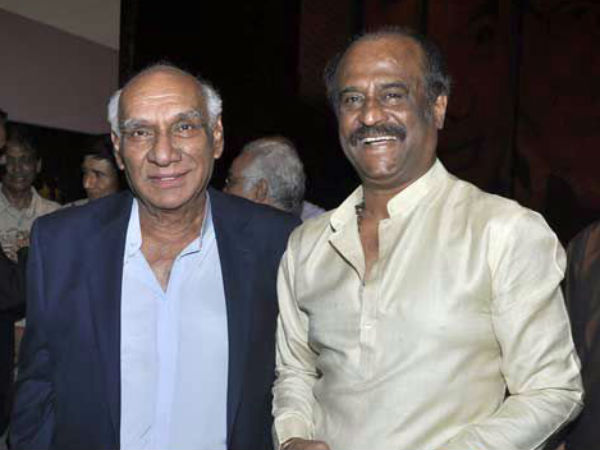 Rajinikanth With Yash Chopra