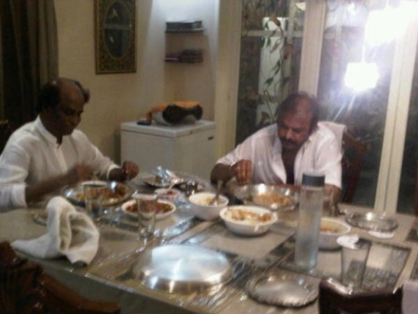 Rajini With Mohan Babu