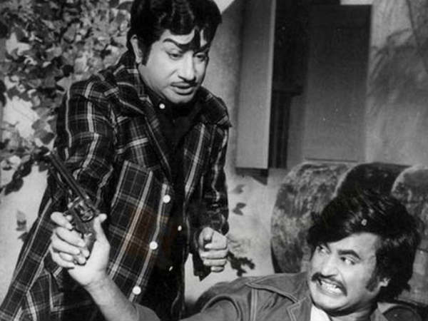Rajini With Sivaji Ganeshan