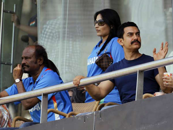 Rajini With Aamir Khan