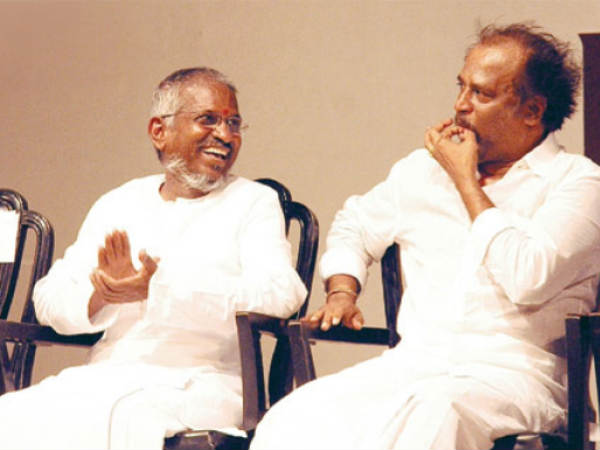 Rajini With Illayaraaja