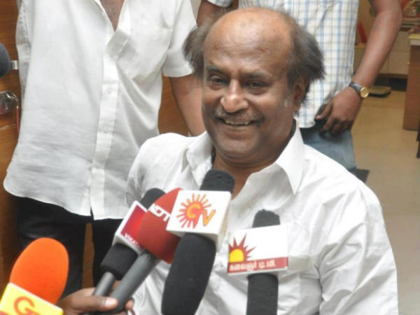 Rajinikanth Addresses Media
