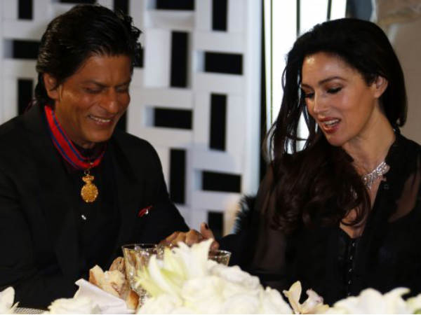 SRK With Italian Actress Monica Bellucci
