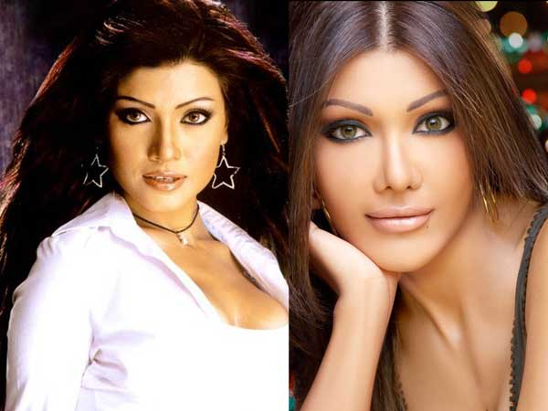 Koena Mitra Plastic Surgery Before and After Nose Job ...