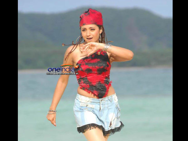 Trisha's Hot And Happening Photo On Net