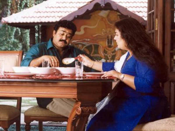 Mohanlal With Wife