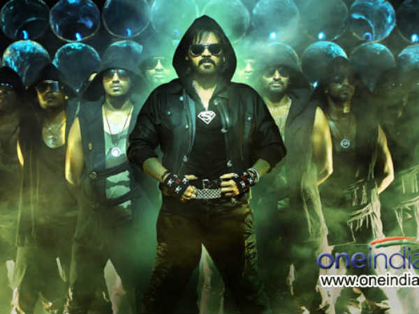 Venky's different avatars in Shadow