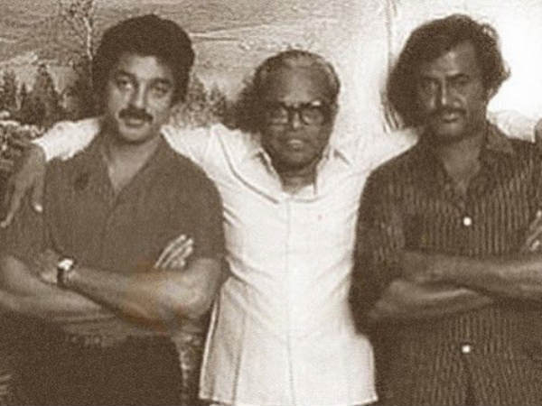 Kamal, K Balachander With Rajini