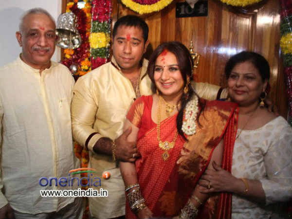 Pooja Gandhi With Anand