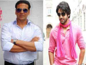 Naga Chaitanya and Akshay