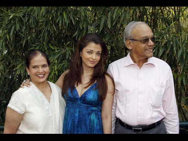 Image result for Aishwarya Rai parents