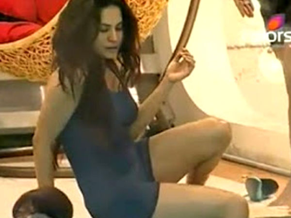 Veena Malik's Picture From Bigg Boss 4