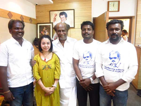 Rajinikanth With Kiyoka