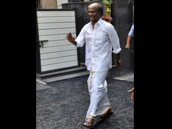 Rajinikanth's Picture Taken On His Birthday