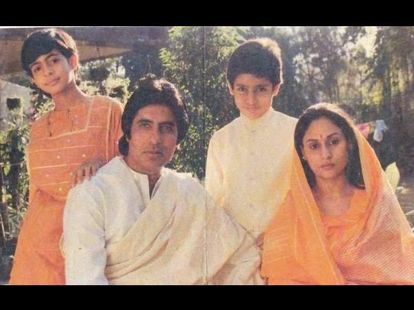 The Big B And Family