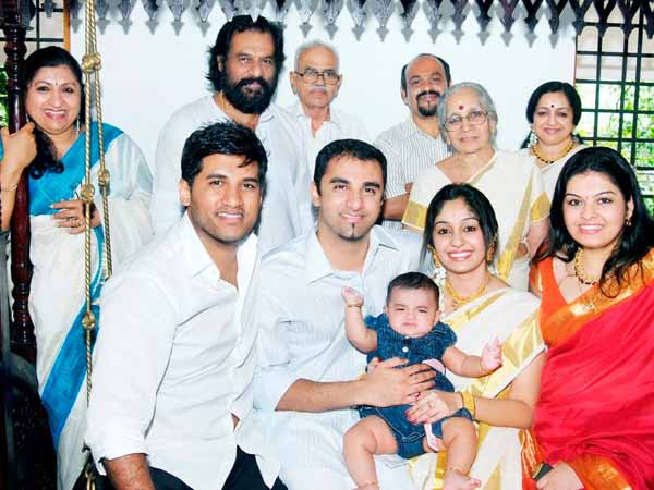 Yesudas With Family