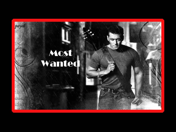 Salman Khan In Most Wanted