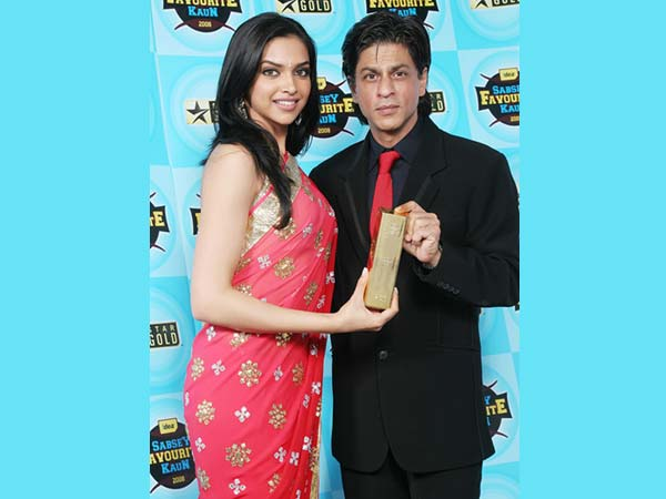 Shahrukh With Deepika