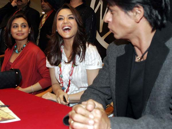 SRK With Rani, Preity
