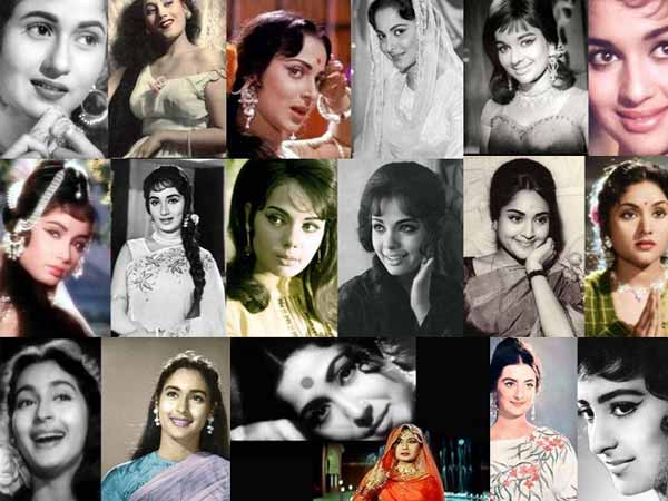 Yesteryear actresses of Bollywood