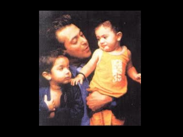 Rare Pic Of Sallu And His Nephews