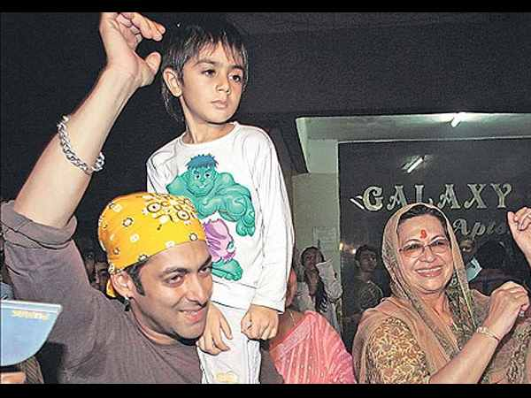 Salman Khan With Arhaan