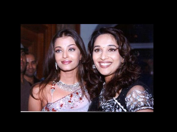 Ash And Madhuri Dixit