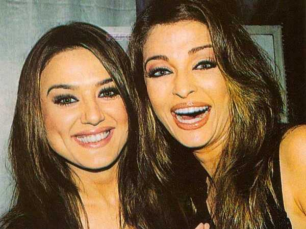 Aishwarya And Preity Zinta