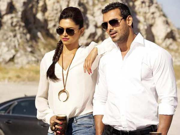 Deepika, John In Race 2