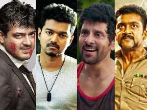 Vijay, Ajith, Surya, Vikram in Forbes India Celebrity 100!