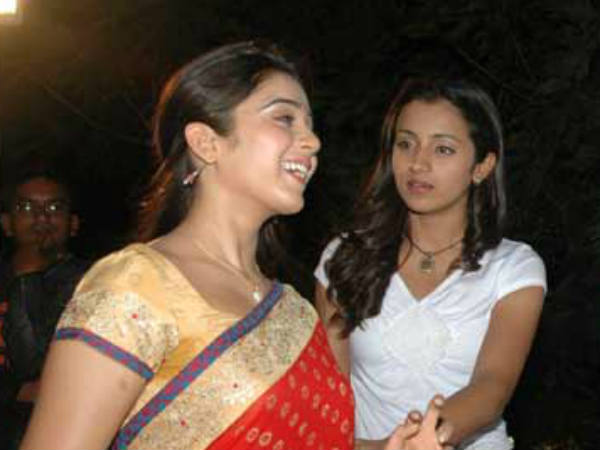 Charmi Kaur And Trisha
