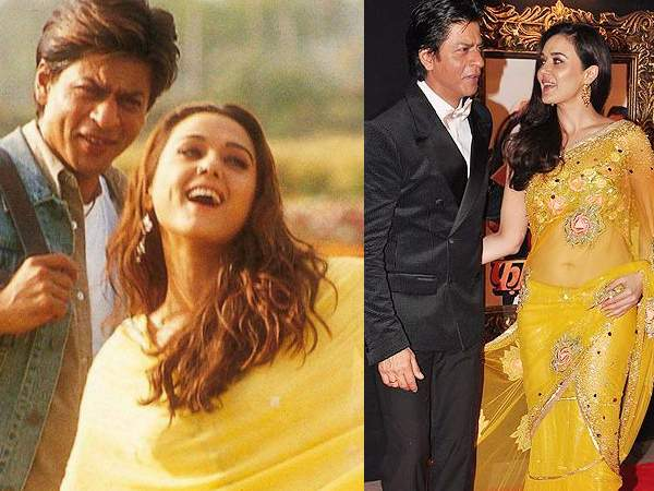 Shahrukh And Preity