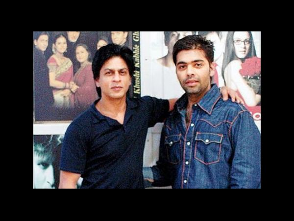 Karan Johar and Shahrukh