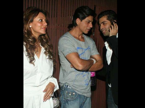 Shahrukh and Karan Johar