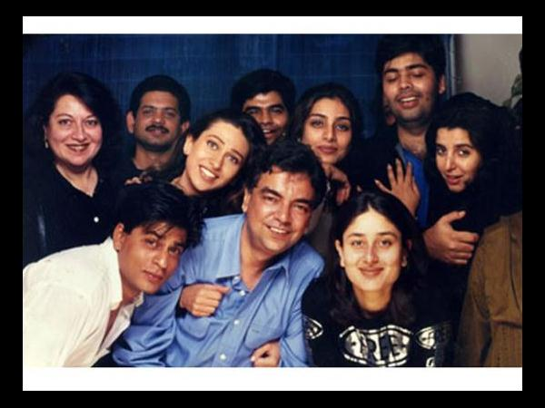 Shahrukh and Karan's group pic