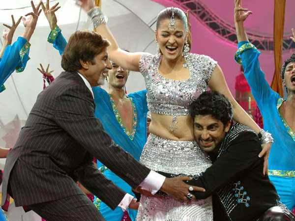 The Bachchans On Stage
