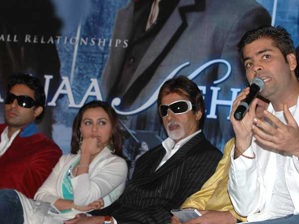 Abhishek bachchan rani mukherjee dating