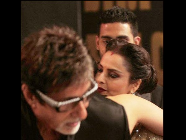 The Big B, Rekha
