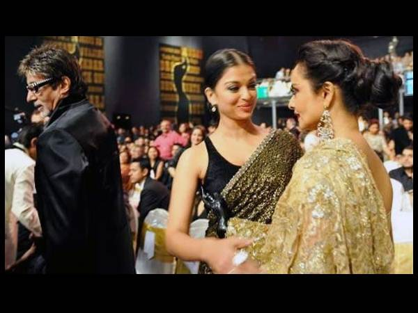 The Big B, Ash And Rekha