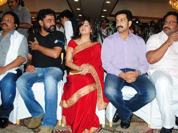 Prithviraj at the audio launch