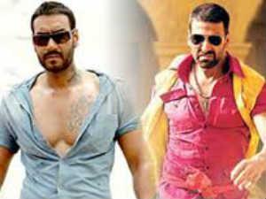 Akshay Kumar Vs Ajay Devgan Career Comparison - YouTube  |Akshay Kumar And Ajay Devgan