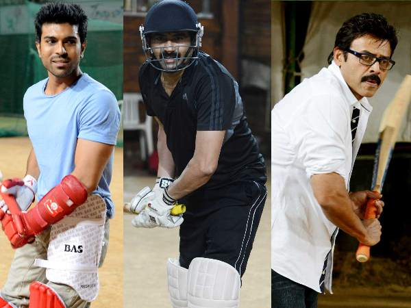 Telugu Warriors practicing for CCL 3
