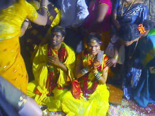 Hemachandra ties knot with Sravani Bhargavi