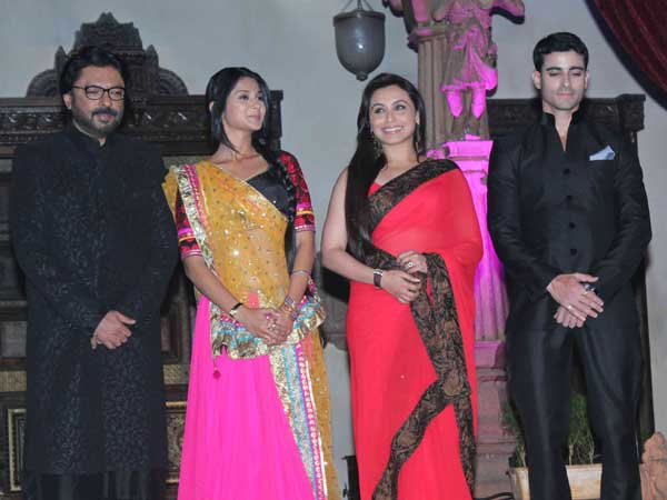 Rani at Bhansalis launch of show Saraswatichandra